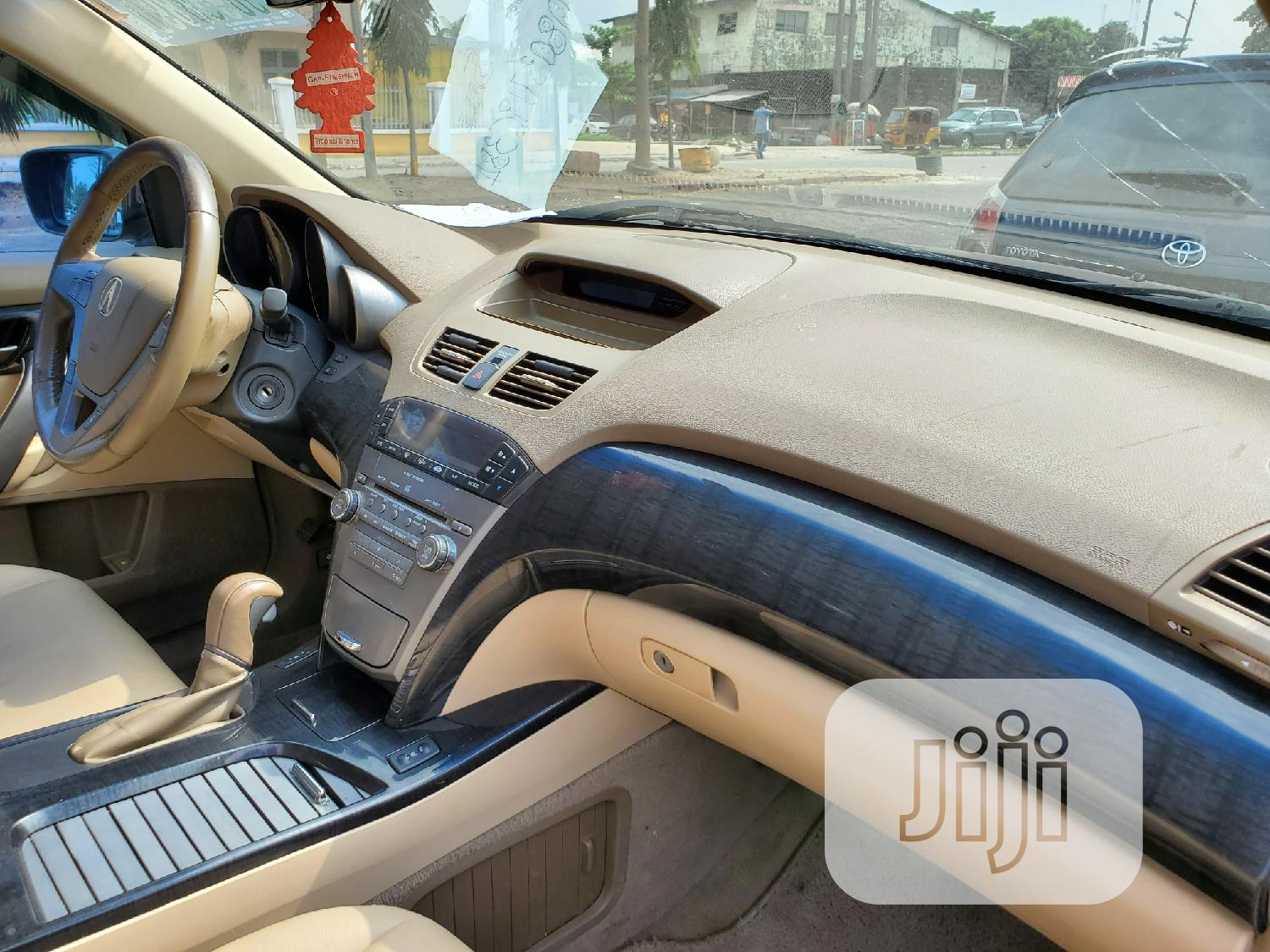 Acura MDX 2007 SUV 4dr AWD (3.7 6cyl 5A) Red | Cars for sale in Amuwo-Odofin, Lagos State, Nigeria