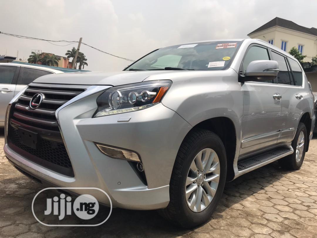 Lexus GX 2014 460 Luxury Silver   Cars for sale in Ikeja, Lagos State, Nigeria