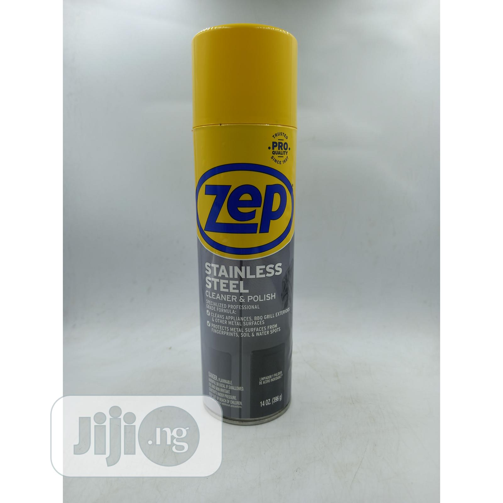 Zep Stainless Steel Cleaner Polish