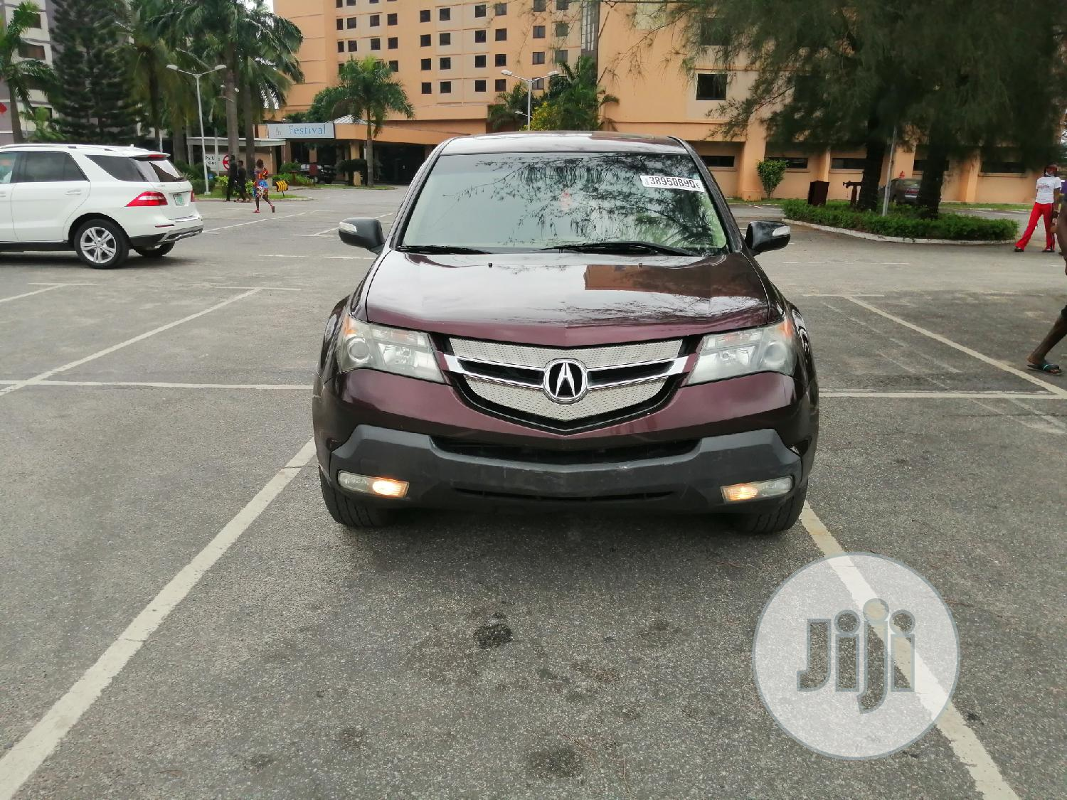 Acura MDX 2007 SUV 4dr AWD (3.7 6cyl 5A) Red