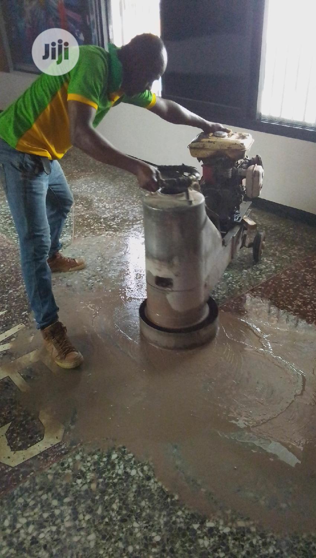 Marble and Terrazzo Floor Polishing