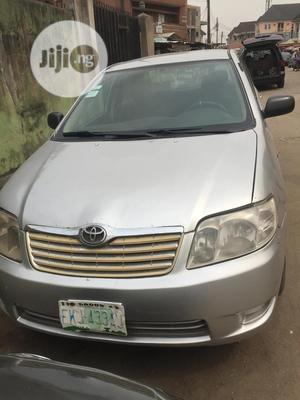 Toyota Corolla 2005 1.4 C Silver   Cars for sale in Lagos State, Shomolu