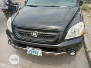 Honda Pilot 2004 LX 4x4 (3.5L 6cyl 5A) Black | Cars for sale in Lagos State, Amuwo-Odofin