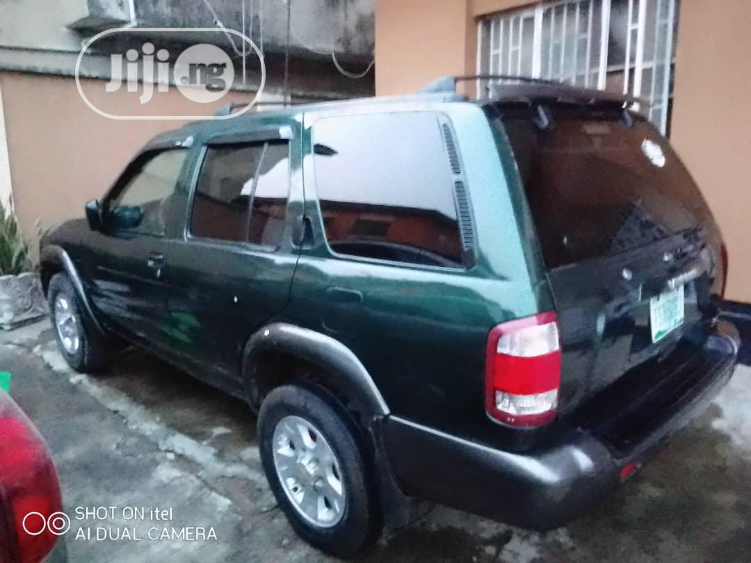 Nissan Pathfinder 1999 Green | Cars for sale in Abule Egba, Lagos State, Nigeria