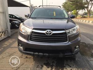 Toyota Highlander 2016 Gray | Cars for sale in Lagos State, Surulere