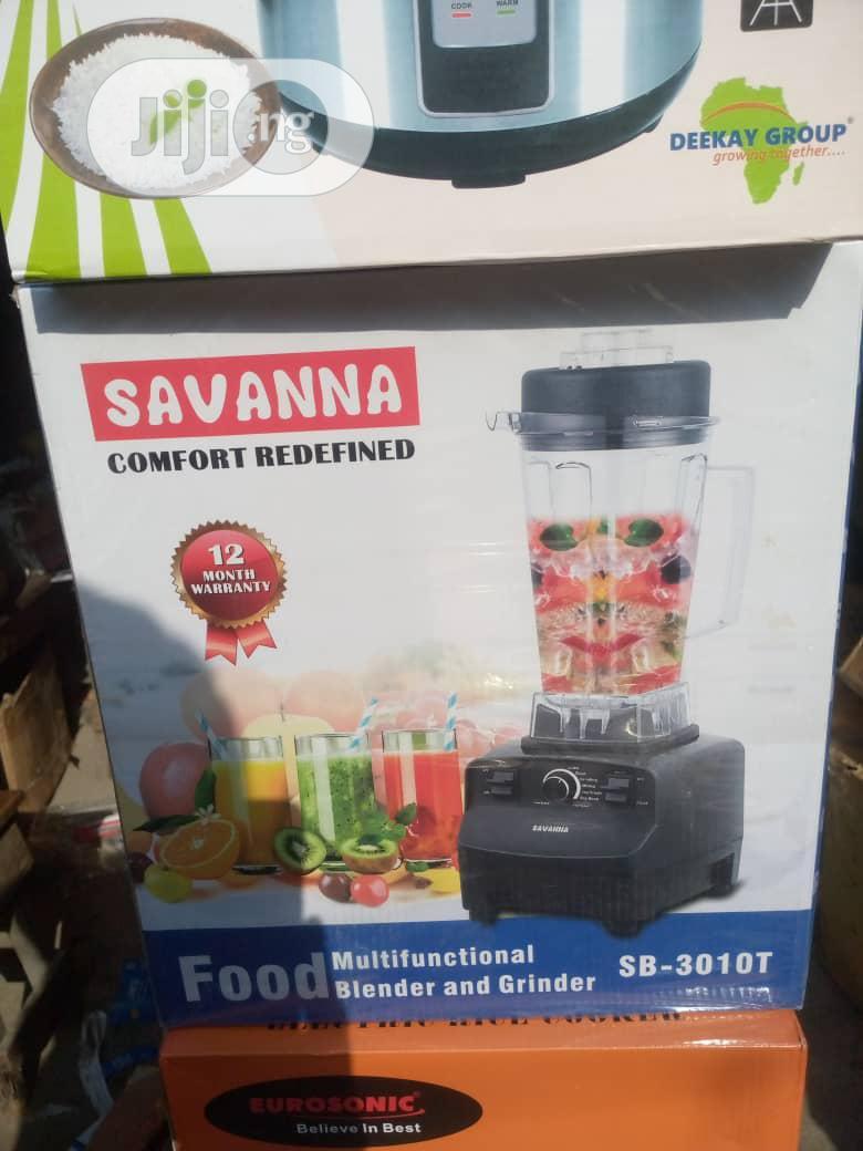 Savannah Blender