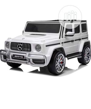 Leather Seat High Door Mercedes Benz Gwagon Ride On Car | Toys for sale in Lagos State, Lekki