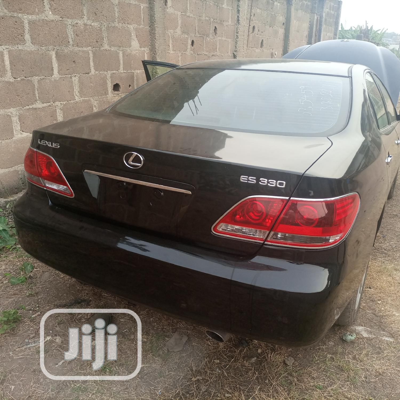 Lexus ES 2005 330 Black | Cars for sale in Abeokuta South, Ogun State, Nigeria