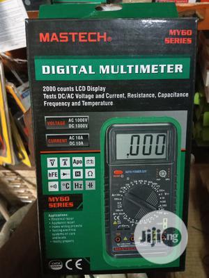 Original My68 Digital Multimeter Mastech   Measuring & Layout Tools for sale in Lagos State, Ikeja