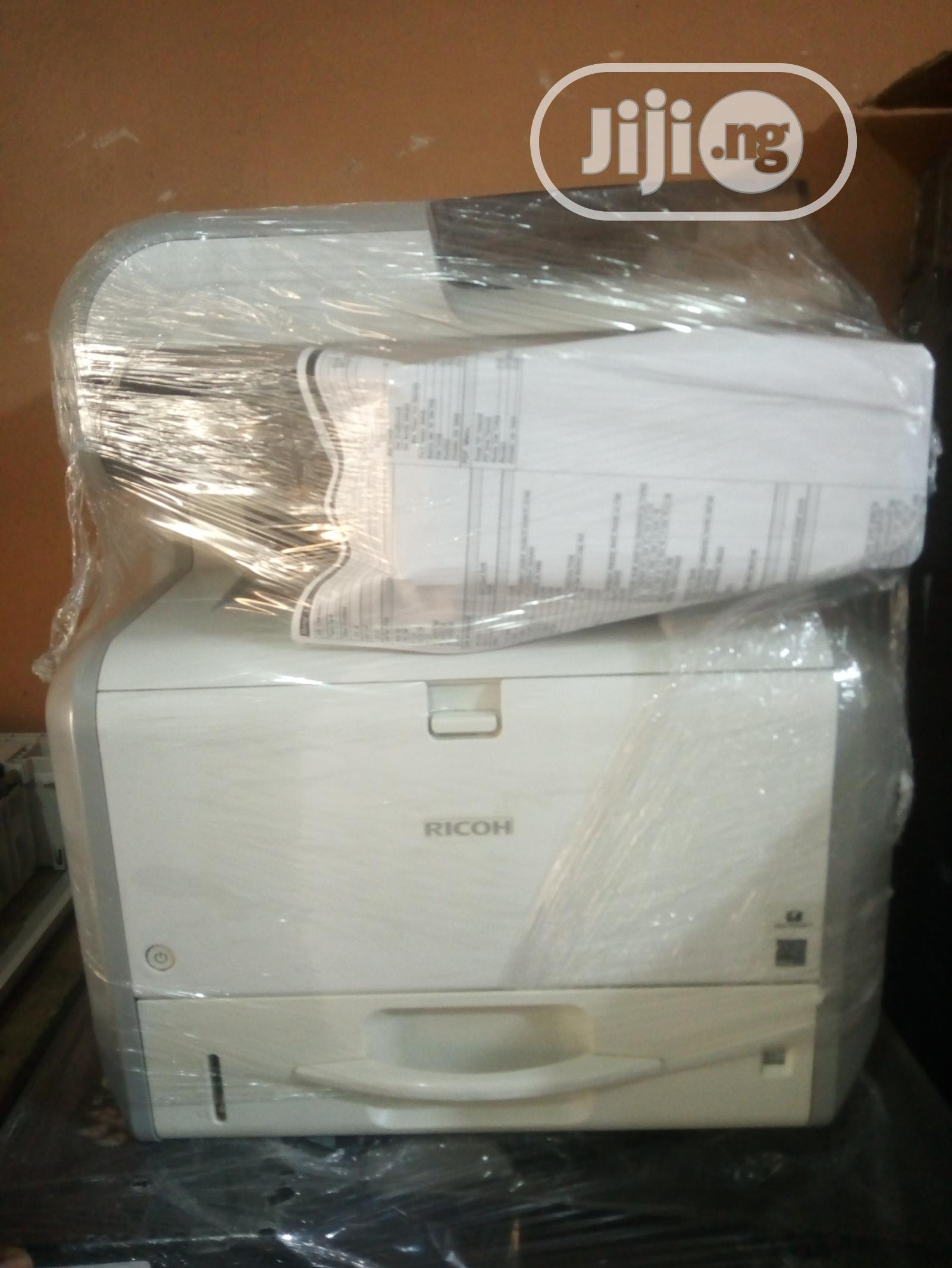 Aficio Ricoh Sp4510sf Multifunctional Black and White
