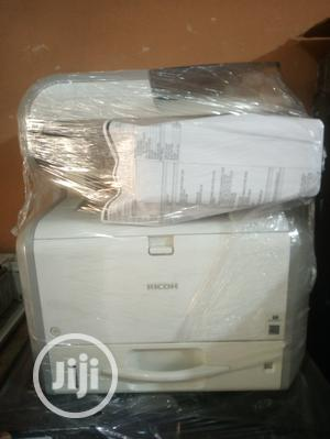 Aficio Ricoh Sp4510sf Multifunctional Black and White | Printers & Scanners for sale in Lagos State, Surulere