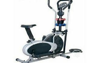 Orbitrac Bike With Dumbell Twister | Sports Equipment for sale in Lagos State, Ilupeju