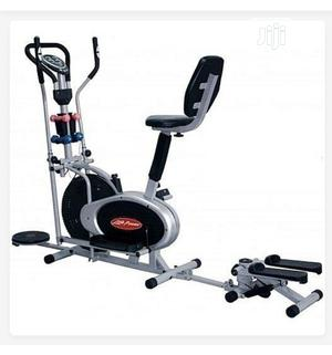 Orbitrac Elliptical Bike With Stepper Twister and Back Rest | Sports Equipment for sale in Lagos State, Ifako-Ijaiye