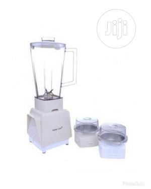 Master Chef 3 in 1 Blender With Mill | Kitchen Appliances for sale in Lagos State, Ifako-Ijaiye