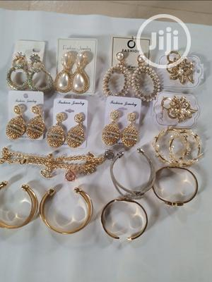 Earrings and Bangles and Brooch   Jewelry for sale in Ondo State, Akure