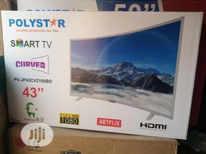 Polystar 43 Curve Smart | TV & DVD Equipment for sale in Lagos State, Ojo