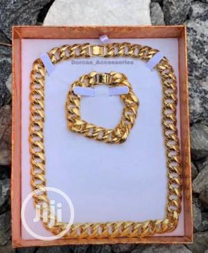 Real Gold Chain Necklaces With Hand | Jewelry for sale in Lagos State, Surulere
