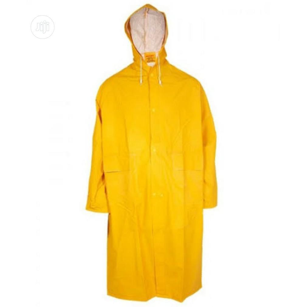 Rain Coat Available