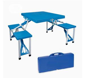 Portable Picnic Table Briefcase Set With 2 Benches | Furniture for sale in Lagos State, Alimosho
