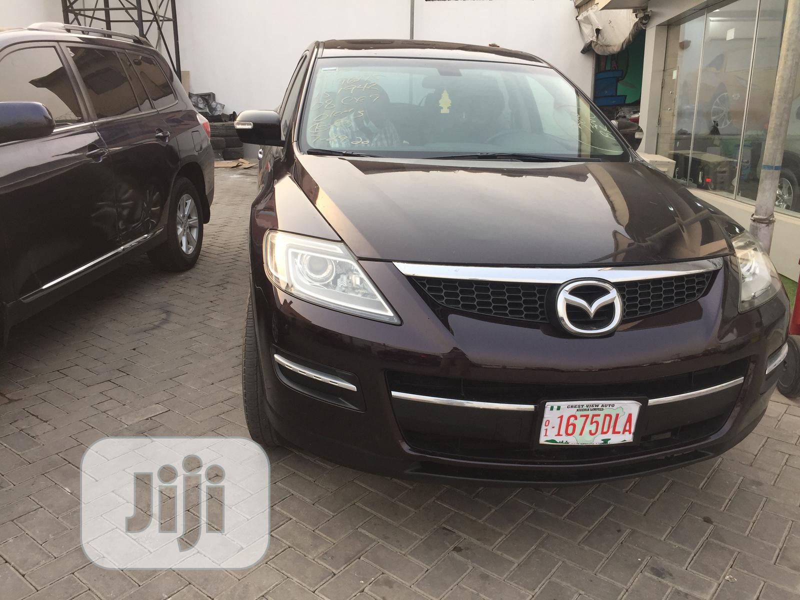 Mazda CX-9 2008 Grand Touring 4WD Brown | Cars for sale in Gbagada, Lagos State, Nigeria