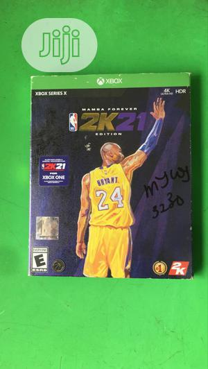 2K21 Nba Cd   Video Games for sale in Lagos State, Ikeja