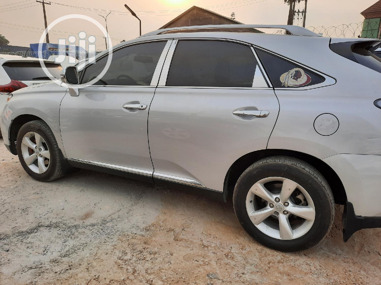 Lexus RX 2010 350 Silver | Cars for sale in Amuwo-Odofin, Lagos State, Nigeria