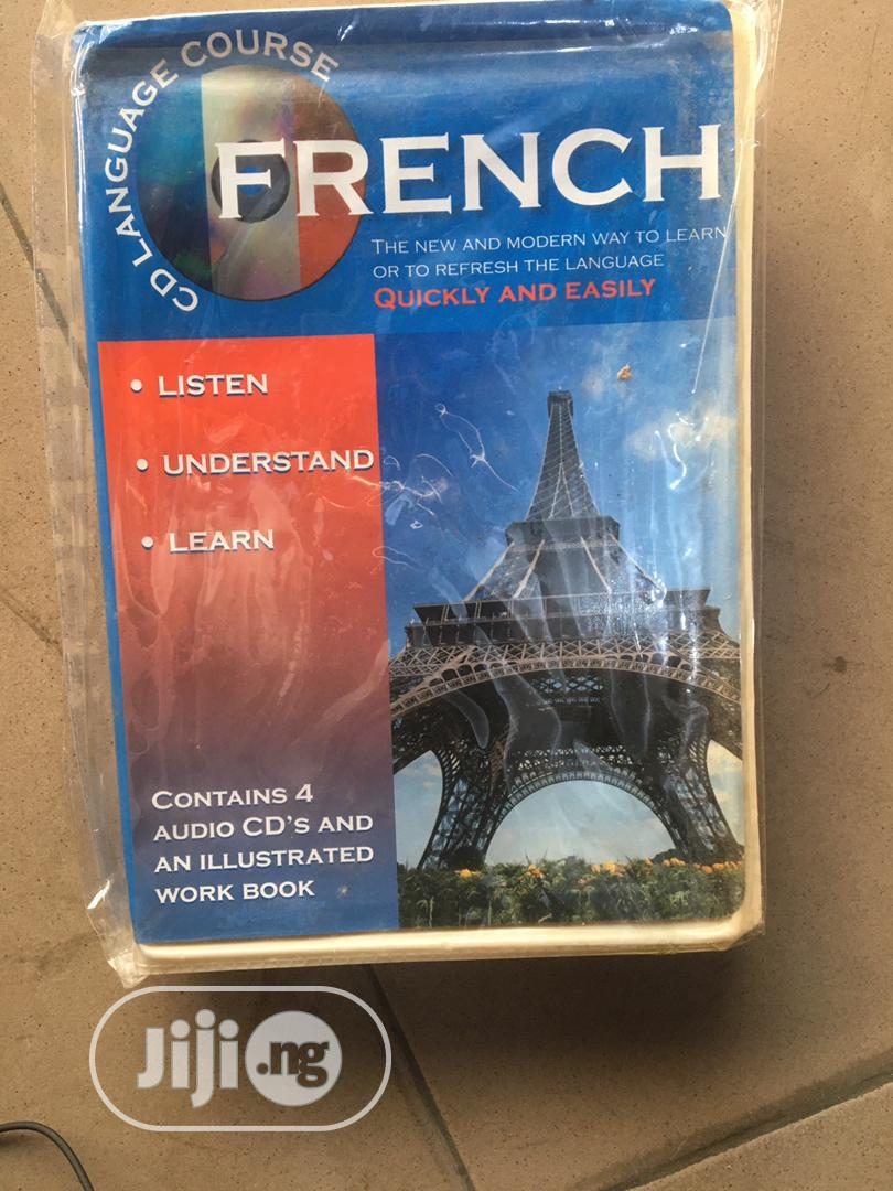French Audio Learning Cd and Book