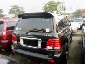 Lexus LX 2006 470 Sport Utility Black   Cars for sale in Lagos State, Apapa