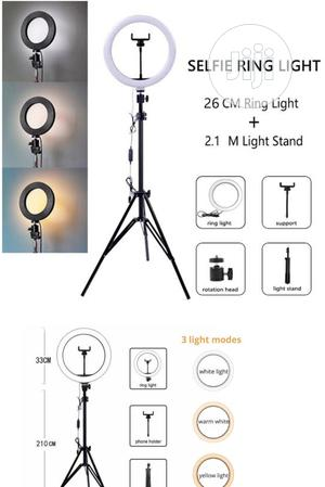 Ring Light With Stand for Life Streaming 12inches 33cm Stand   Accessories & Supplies for Electronics for sale in Lagos State, Ikeja