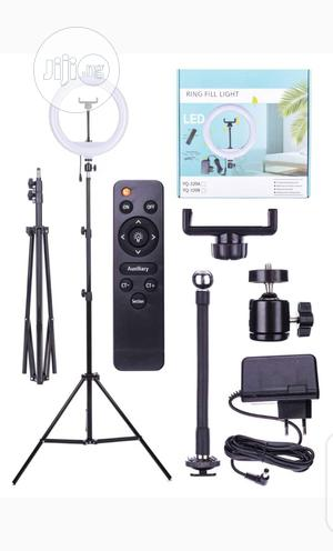 Ring Light With Remote for Live Streaming. 12inches Stand   Accessories & Supplies for Electronics for sale in Lagos State, Ikeja