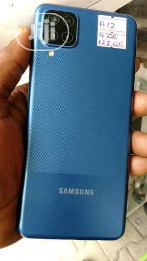 Samsung Galaxy A12 128 GB Blue   Mobile Phones for sale in Lagos State, Ikeja
