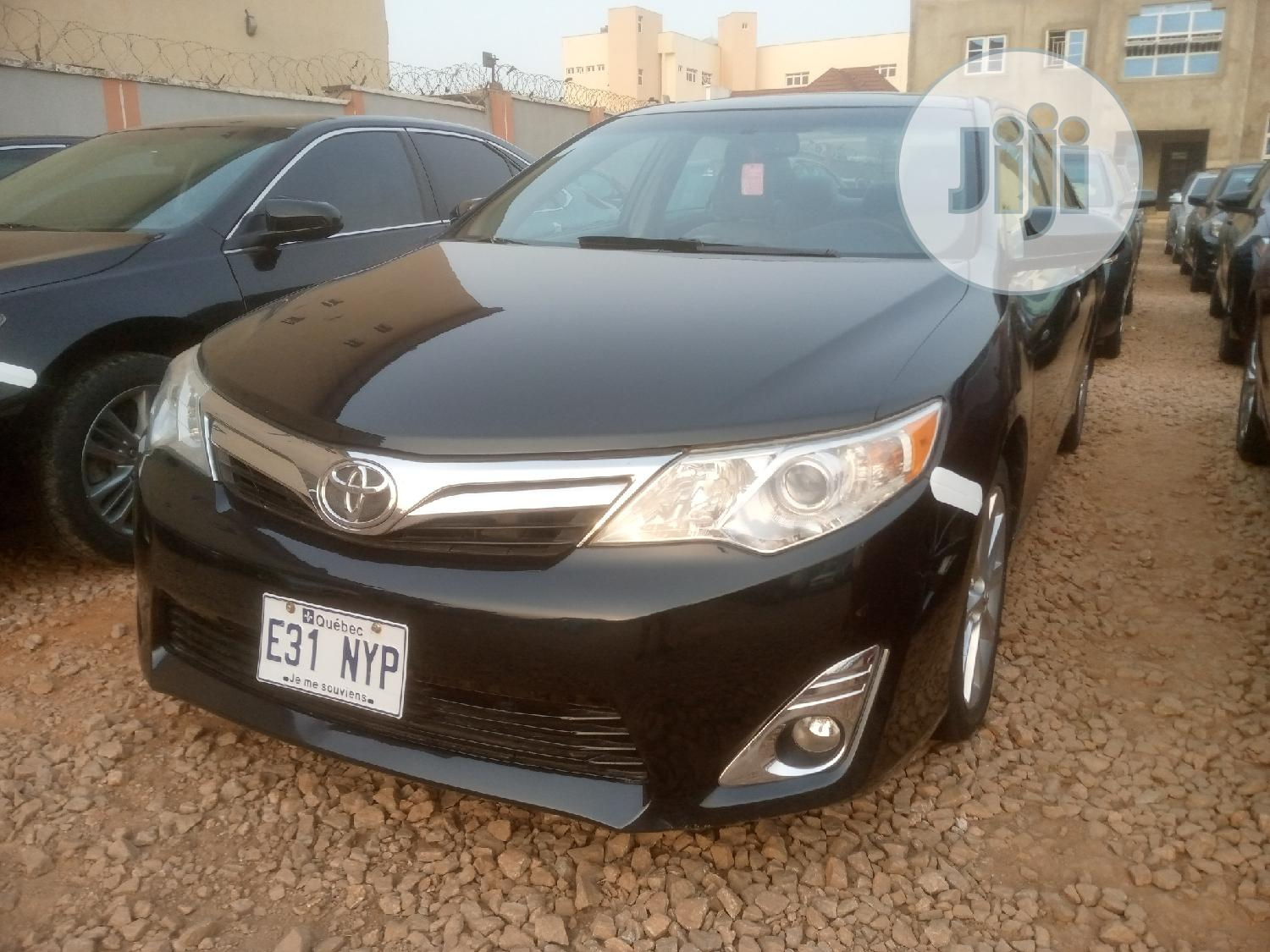 Archive: Toyota Camry 2013 Black