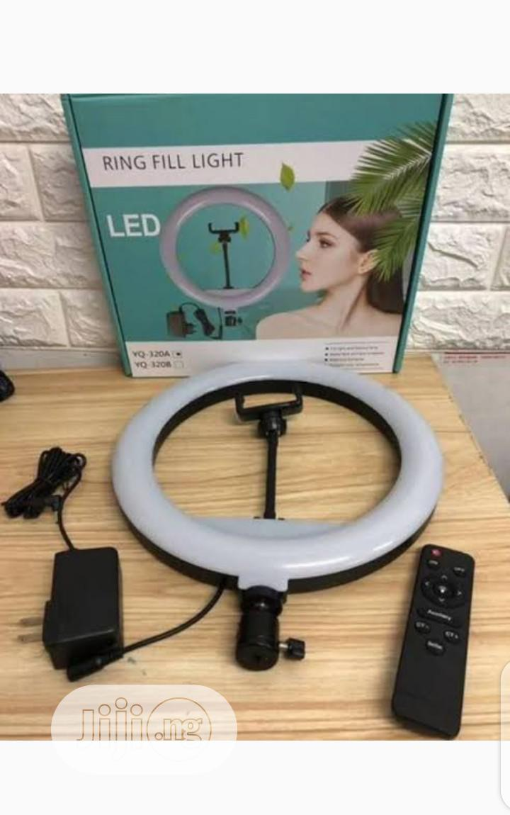 Led Ring Light With Tripod and Remote Control 30cm Stand