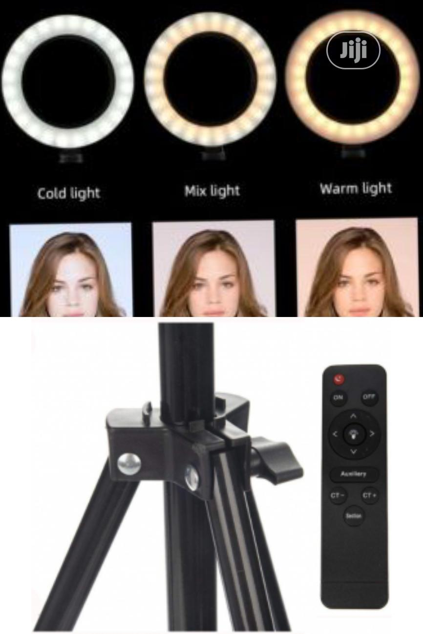 Led Ring Light With Tripod and Remote Control 30cm Stand | Accessories & Supplies for Electronics for sale in Ikeja, Lagos State, Nigeria