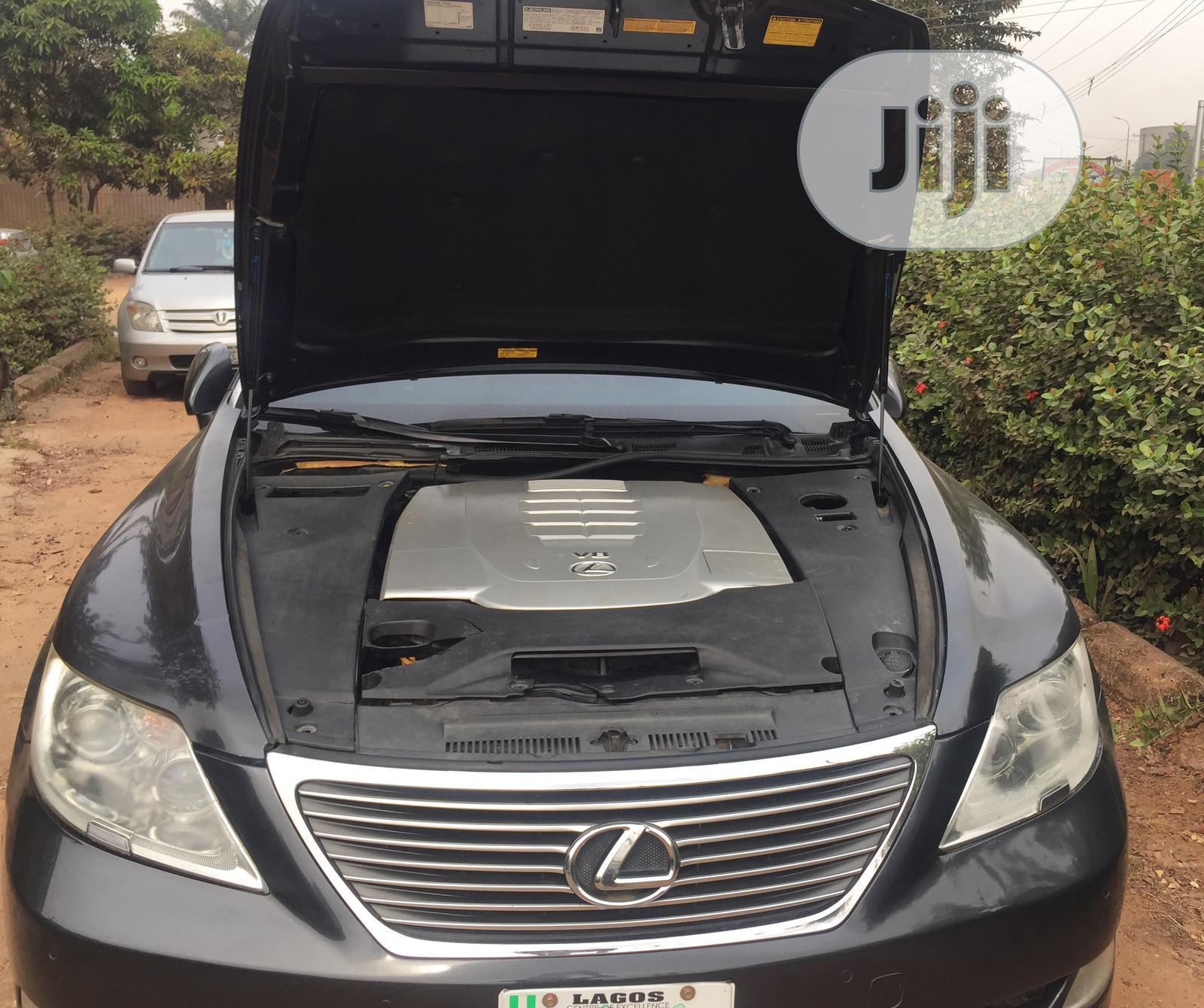 Lexus LS 2009 460 Black   Cars for sale in Nnewi, Anambra State, Nigeria