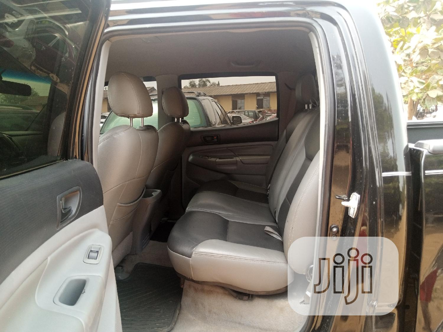 Toyota Tacoma 2008 4x4 Double Cab Black | Cars for sale in Ibadan, Oyo State, Nigeria