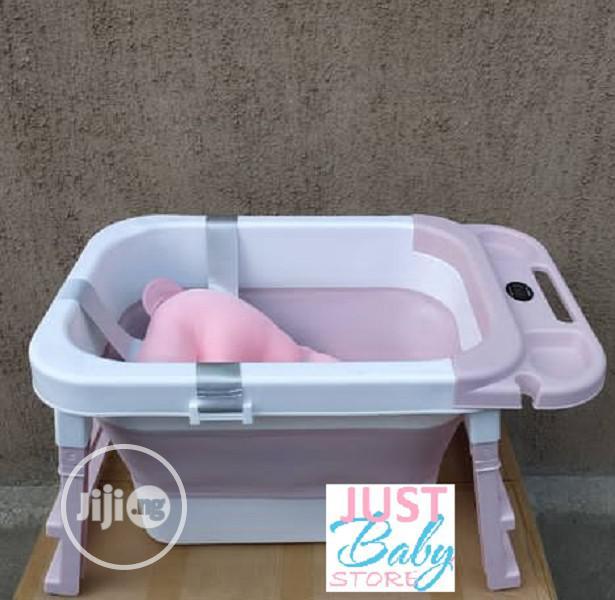 Archive: Foldable Baby Bath Tub With Bath Cushion,Digital Thermometer