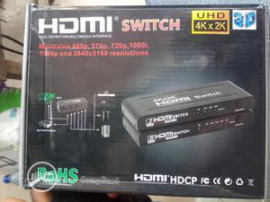 1×3 Hdmi Switch 4k With Remote | Computer Accessories  for sale in Lagos State, Ikeja