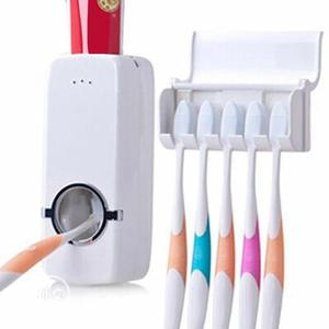 Toothpaste Dispenser and Toothbrush Holder | Home Accessories for sale in Lagos State, Lagos Island (Eko)