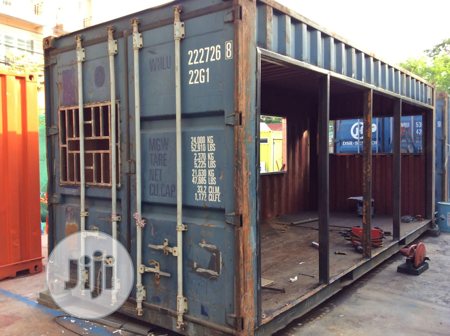 Archive: Container Fabrication