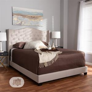 Fabric Tufted Full/Double Bed | Furniture for sale in Lagos State, Ikeja