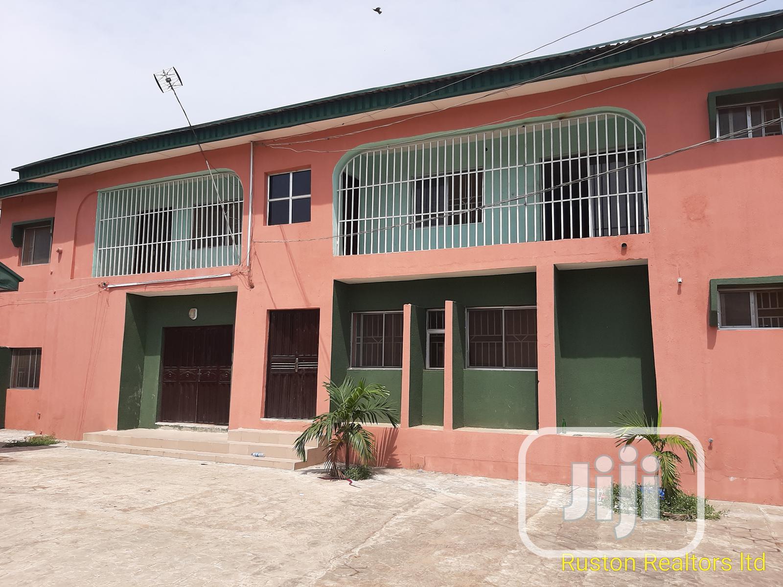 Block of 4 Flats of 3 Bedrooms With 2 Bedroom Bungalow