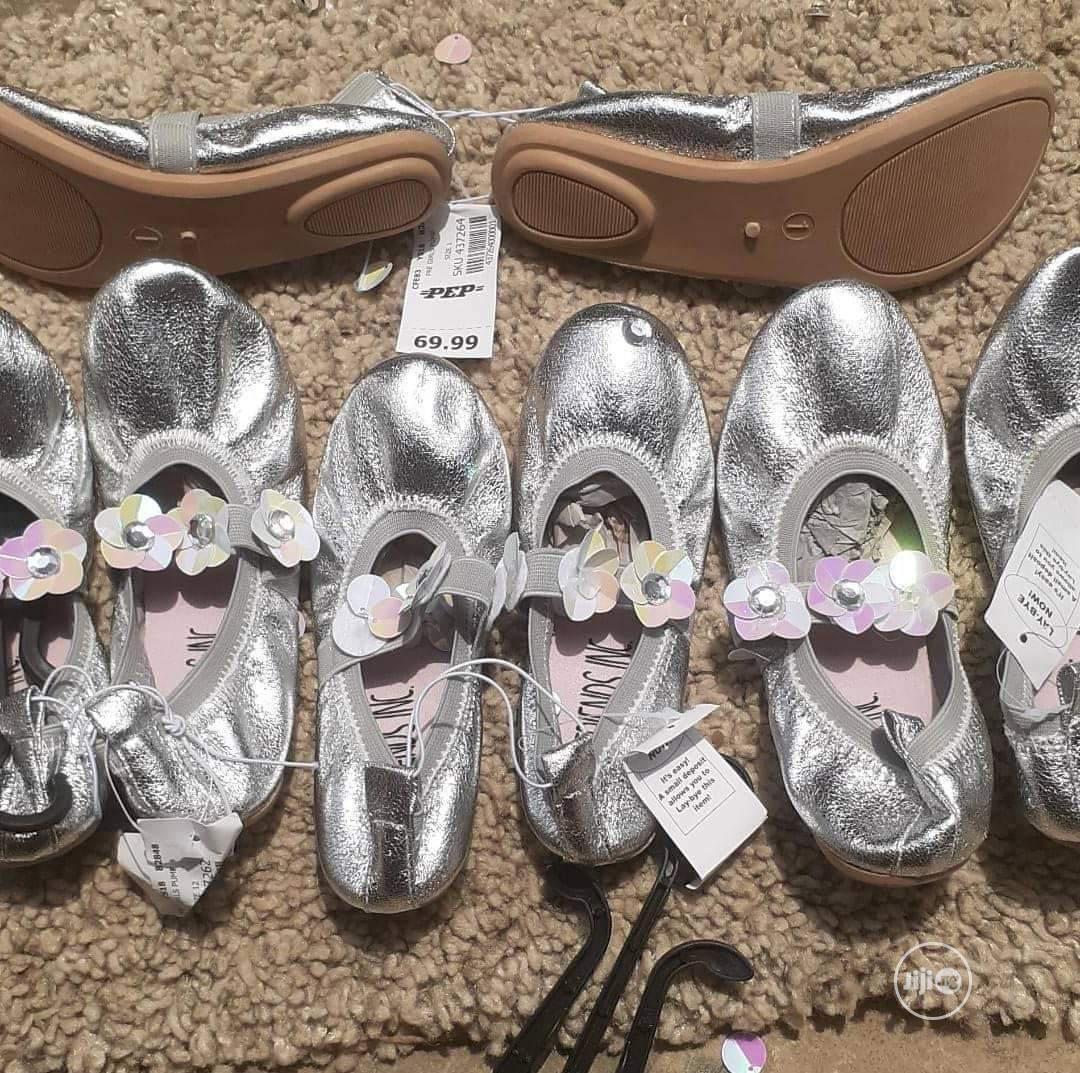 Children's Silver Flat | Children's Shoes for sale in Amuwo-Odofin, Lagos State, Nigeria