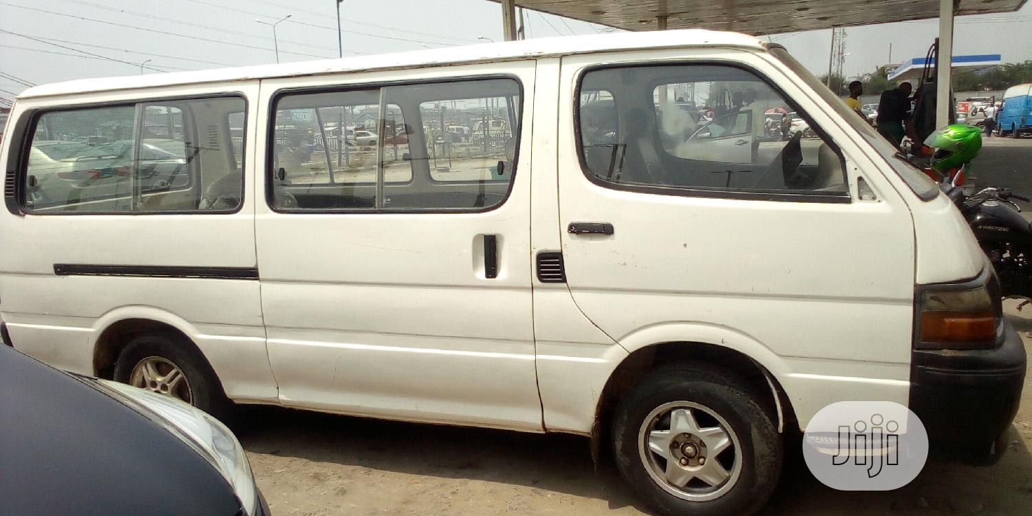Archive: Toyota Hiace Tokunbo