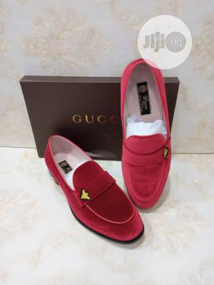 Gucci Red Suede Shoe for Men | Shoes for sale in Lagos State, Lagos Island (Eko)