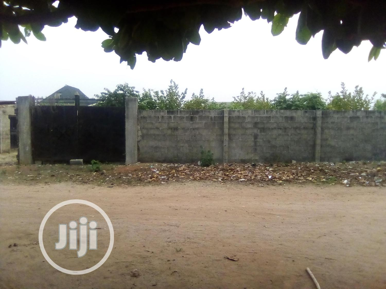 Fully Fenced Plot of Land for Sale With Family Deed