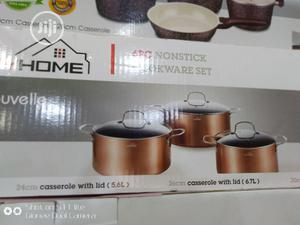 My Home Non-Stick Cookware Set (3 Units)   Kitchen & Dining for sale in Lagos State, Lagos Island (Eko)