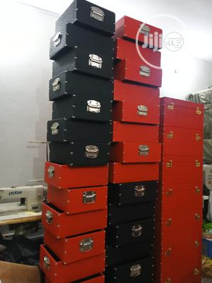 Leather Hamper Boxes | Arts & Crafts for sale in Lagos State, Apapa
