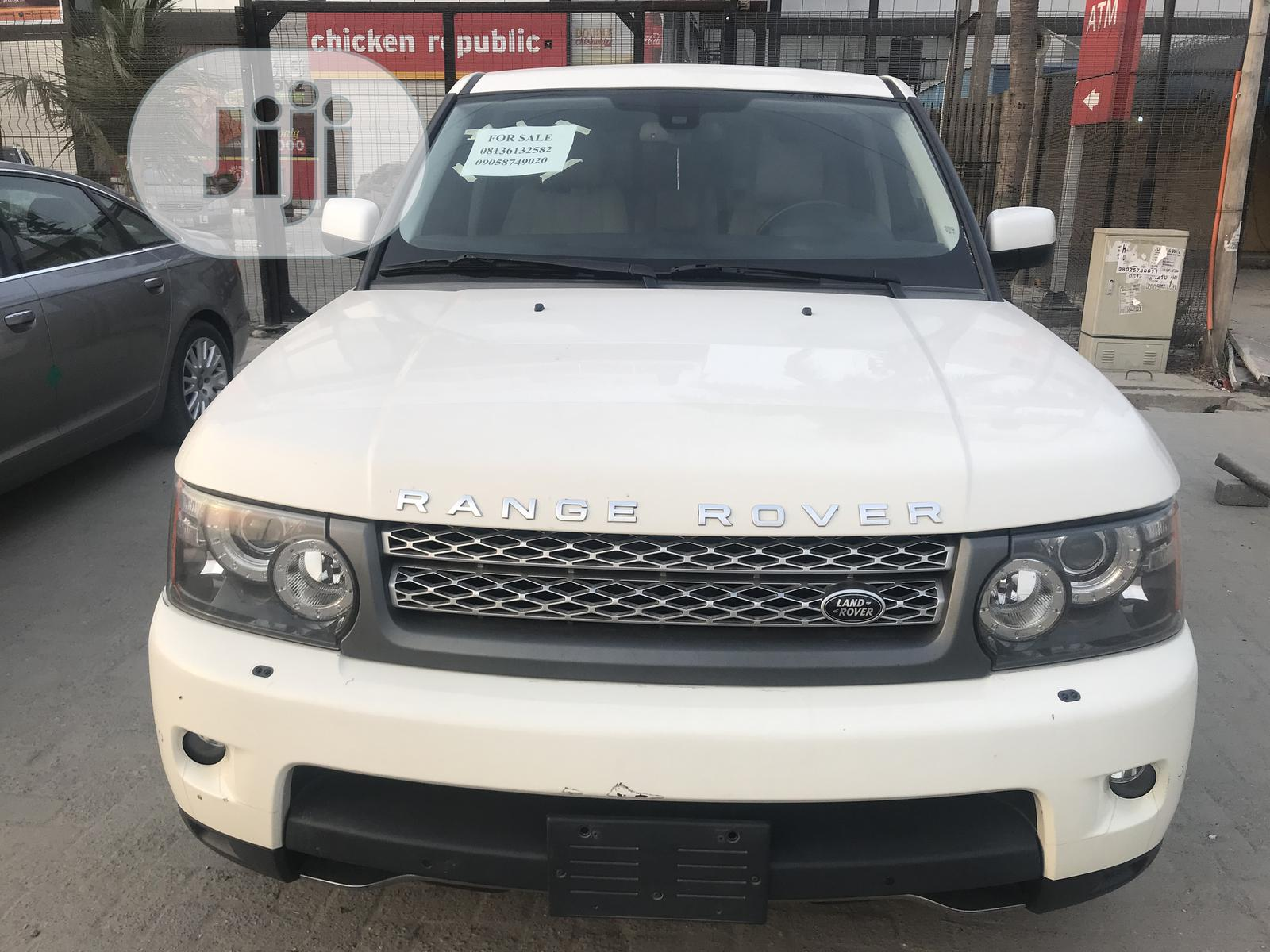 Land Rover Range Rover Sport 2012 HSE 4x4 (5.0L 8cyl 6A) White | Cars for sale in Ajah, Lagos State, Nigeria
