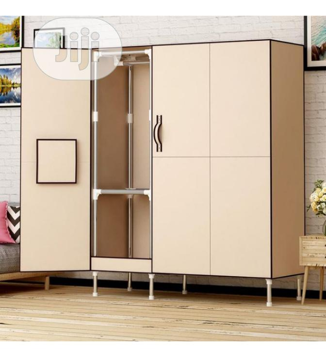 Archive: Stainless Wardrobe Multiple Open
